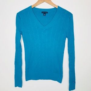 Tommy Hilfiger Blue Sweater Size Small